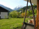 location appartement 2 pieces jardin fenil la clusaz