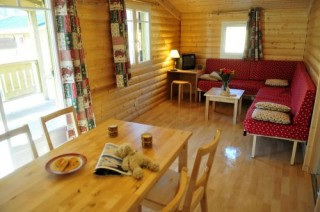 chalet charlay camping domaine du fernuy - sejour