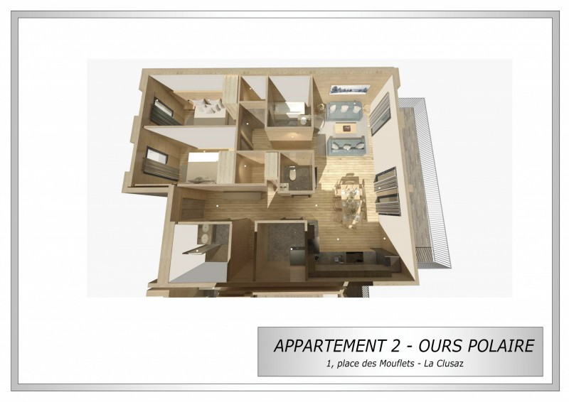 Plan 3D Ours Polaire