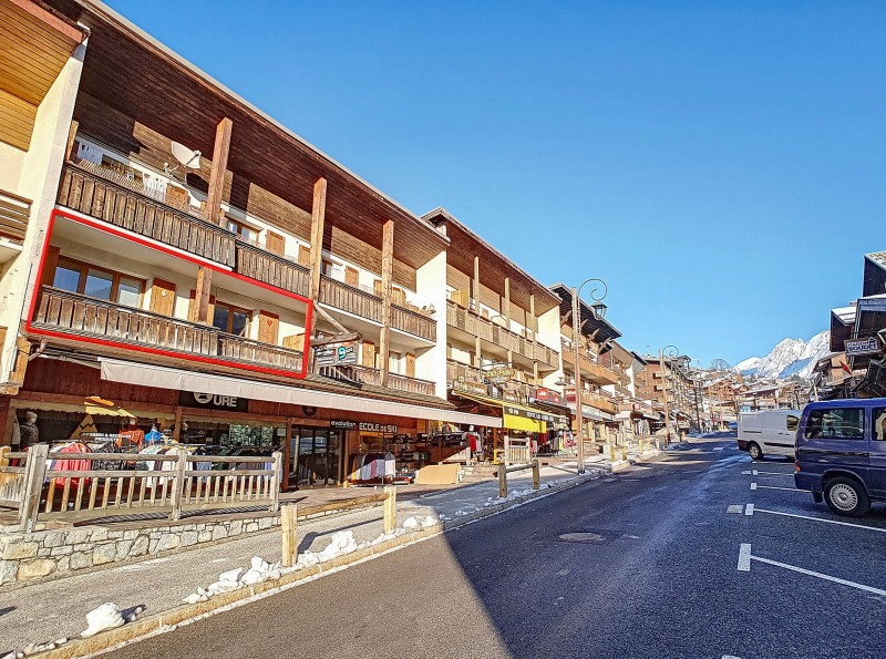 Location appartement 2 pièces centre village Escalade 419 La Clusaz